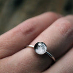Custom My Moon Sterling Silver Ring - Yugen Tribe