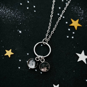 My Moon Small Circle of Life Family Necklace - Yugen Tribe