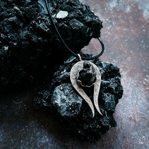 Comet Necklace with Authentic Meteorite
