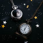 My Moon Custom Lunar Phase Pocket Watch Necklace
