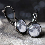 My Moon Custom Earrings - Dangle or Stud - Yugen Tribe