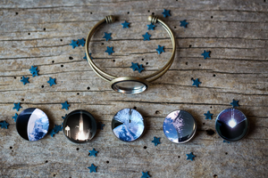 Interchangeable LightSail Planetary Society Cuff Bracelet
