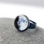 My Moon Custom Adjustable Ring - Yugen Tribe