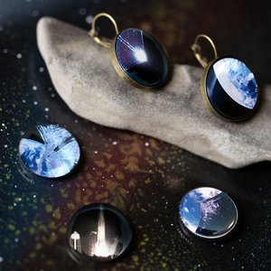Interchangeable LightSail Planetary Society Earrings - Yugen Tribe
