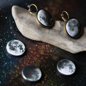 Interchangeable Moon Phase Earrings - Yugen Tribe