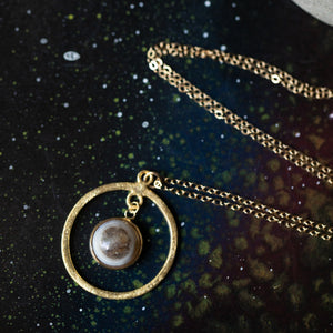 Rings of Saturn Necklace - Limited Edition - Yugen Tribe