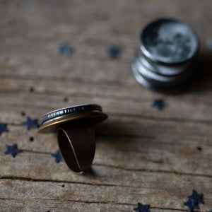 Interchangeable Moon Phase Ring - Yugen Tribe