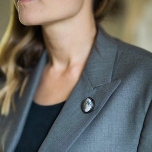 Interchangeable Moon Phase Lapel Pin - Yugen Tribe