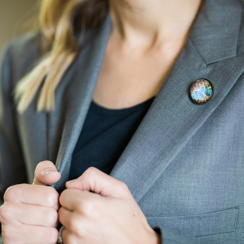Interchangeable Nebula Lapel Pin - Yugen Tribe