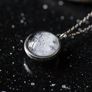 Double Sided Moon Necklace - Yugen Tribe
