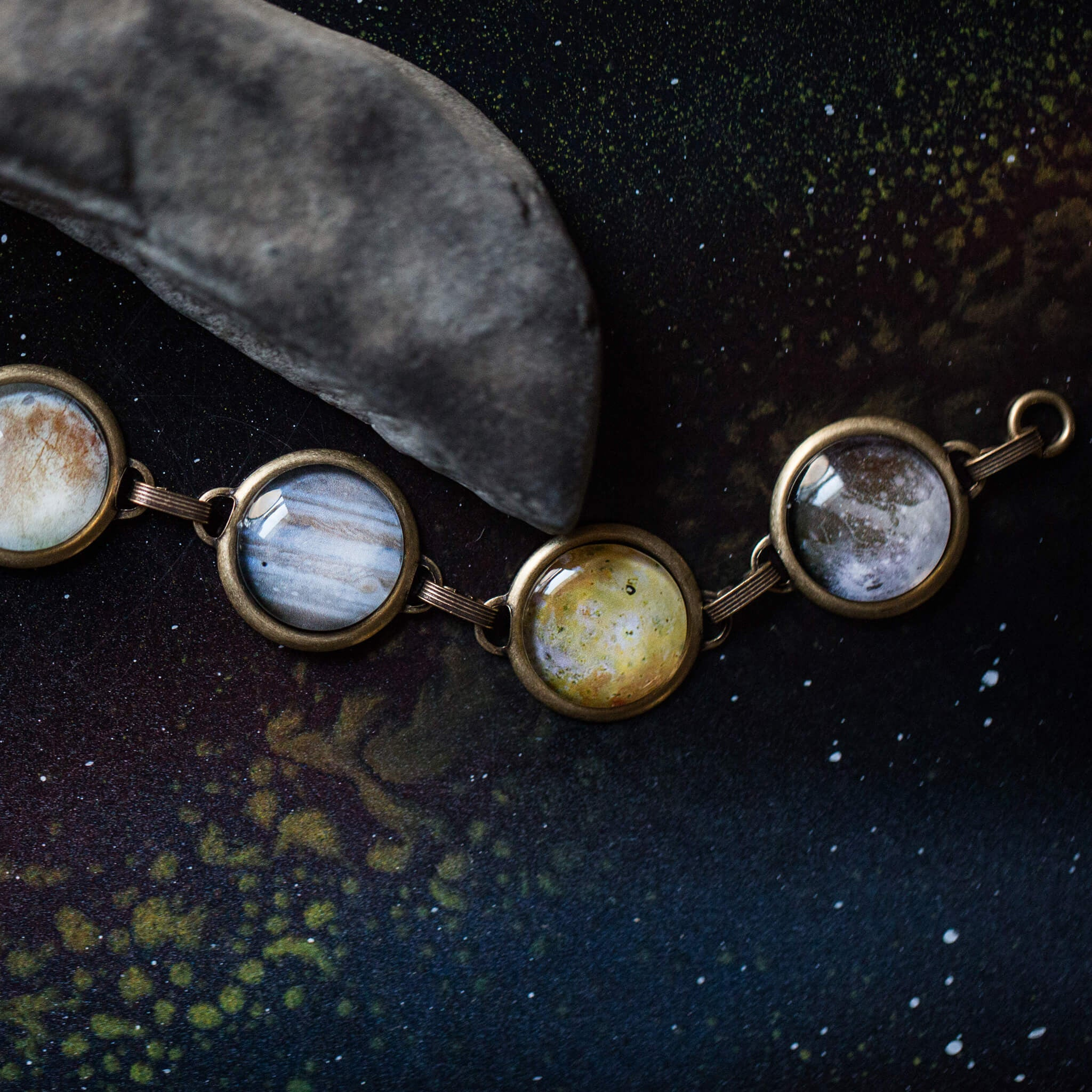 Galilean Moon Bracelet - Jupiter's Moons - Yugen Tribe