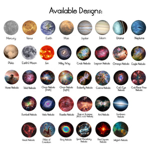 Designs Available for Space Ring Customization by Yugen Tribe