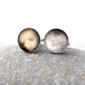 Pluto and Charon Cufflinks - Yugen Tribe