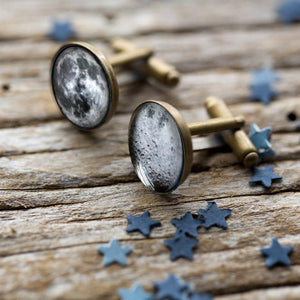 Dark Side of the Moon Cuff Links - Yugen Tribe