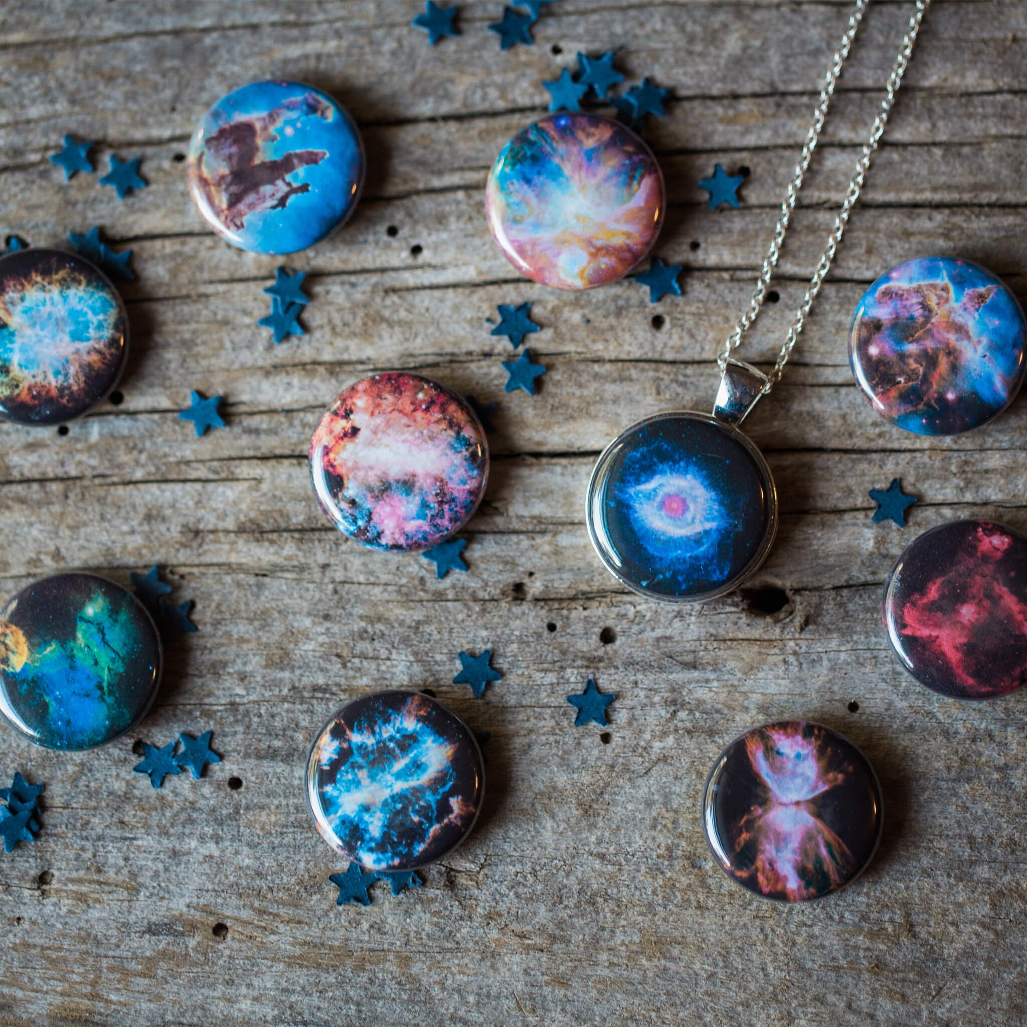 Interchangeable Nebula Necklace - Yugen Tribe