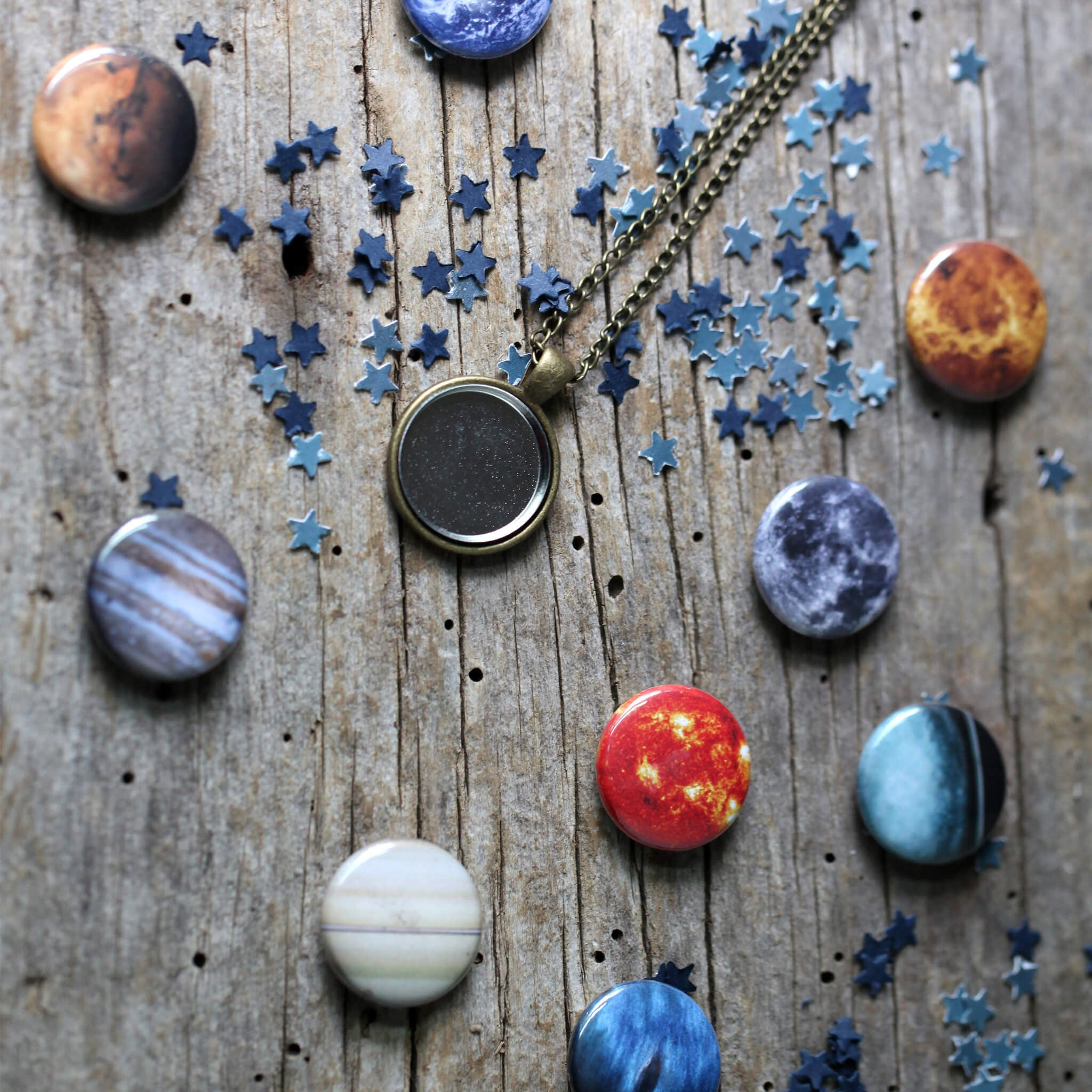 Interchangeable Solar System Necklace - Yugen Tribe