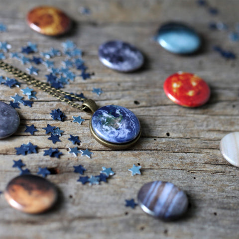 Solar System Images for Interchangeable Jewelry - Magnets Only!