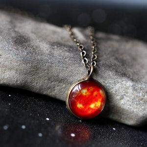 Galaxy Space Pendant - Pick Your Planet or Nebula Necklace - Yugen Tribe