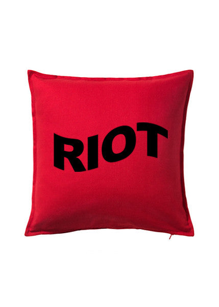 RIOT CUSHION — RED