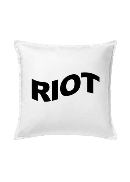 RIOT CUSHION — WHT
