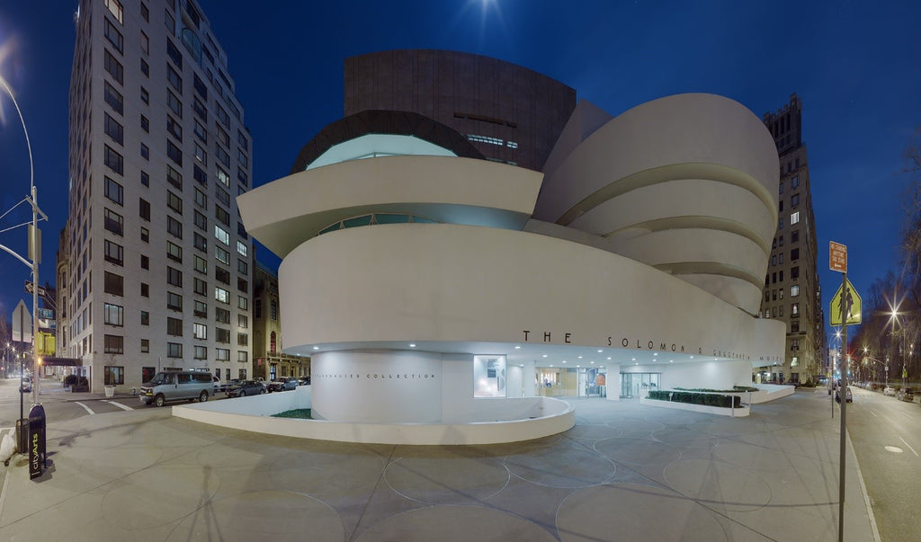 Inspires Wobi Office - Guggenheim Museum by Frank Lloyd Wright