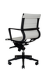 Bradley Lowback Chair (White) - Wobi Office