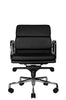 Clyde Lowback Chair (Black) - Wobi Office