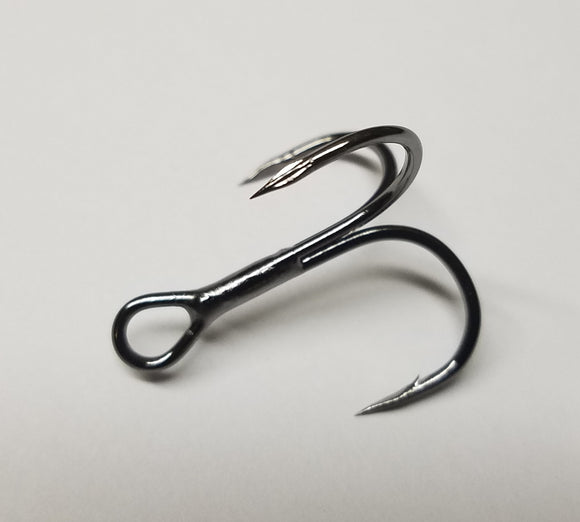 Treble Hook Barbed Cutting Point Forged Maruto
