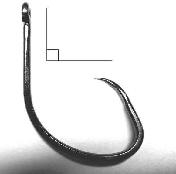 No. 348 Maruto Circle Hook: BARBLESS Grabber Hook