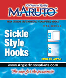 Maruto Barbed Sickle Hook