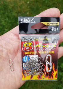 Figure 8 Clip: Low Profile Rigging/Lure clip