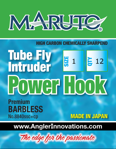 Intruder/Tube Fly Power Hook by Maruto