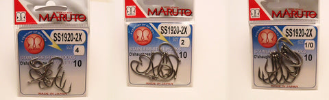 Maruto Offshore-Inshore:  Sport and Commercial Hooks