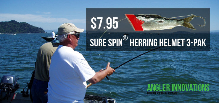 Sure Spin® Herring Helmet