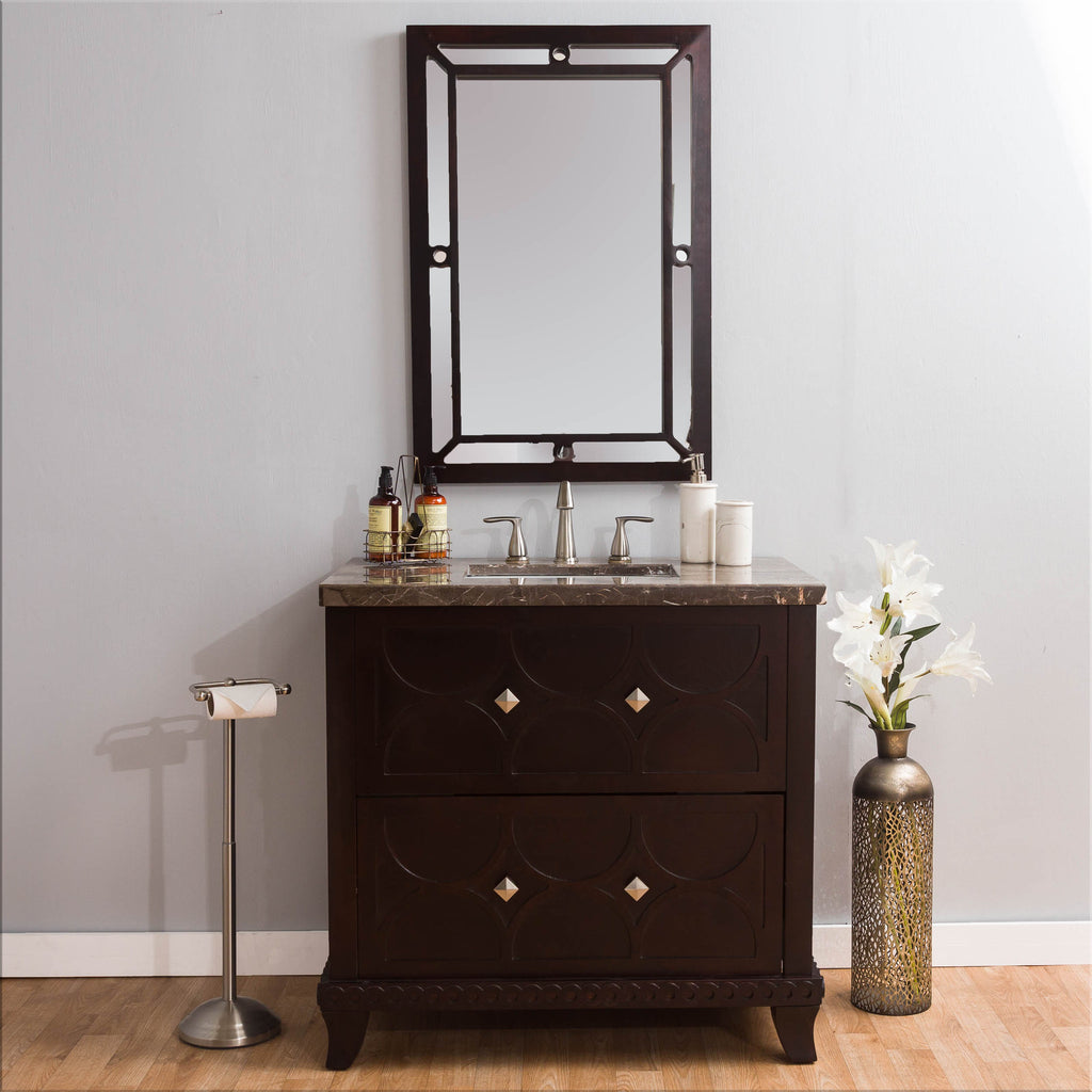 Michael Anthony Brielle Marble Vanity Set