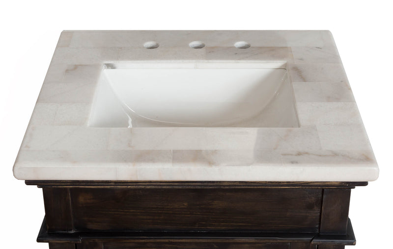 Michael Anthony Jackson Marble Vanity Set
