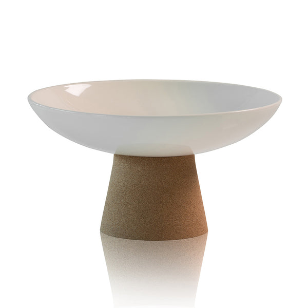 Michael Anthony Furniture Lagoon Low Pedestal Serving Bowl - Pearl