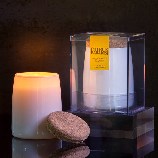 Michael Anthony Furniture Citrus Paradisi Grapefruit Scented Soy Candle