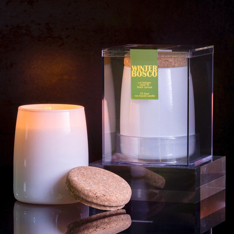 Michael Anthony Furniture Winter Bosco Pine Forest Scented Soy Candle