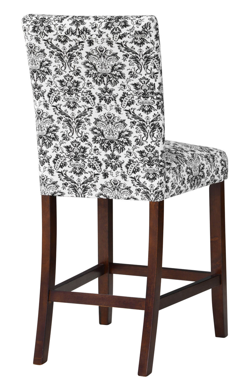 Winsted 24-inch Black Filigree Counter Stool Set (Set of 2)