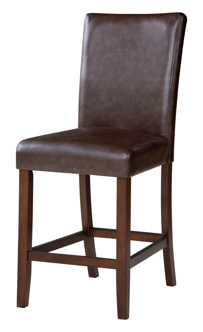 Tracy 24-inch Brown Counter Stool Set (Set of 2)