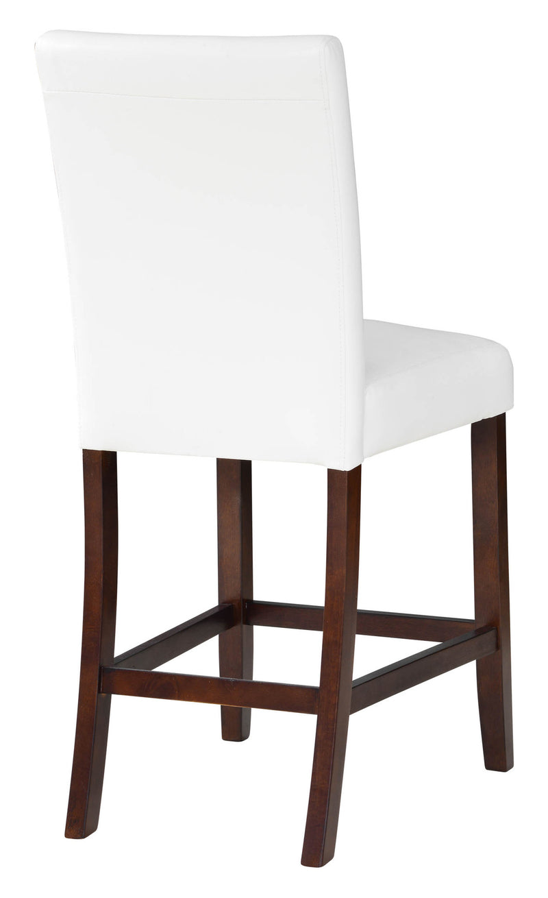 Carver 24-inch White Counter Stool Set (Set of 2)