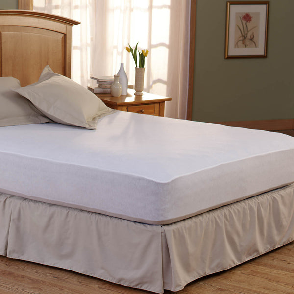Spring Air Bed Armor Waterproof Cal King-Size Mattress Pads