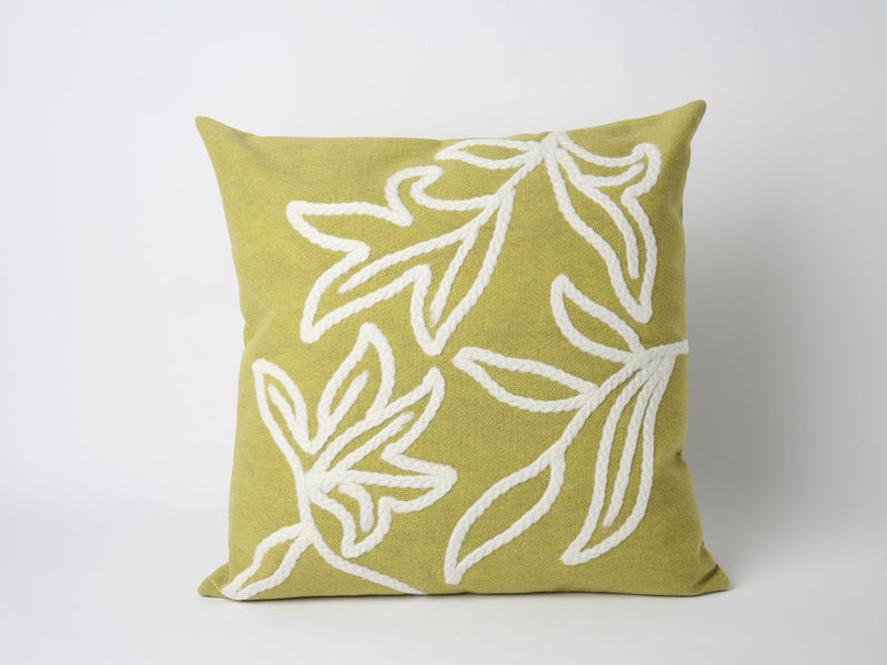 "Windsor Lime 20"" Square Indoor Outdoor Pillow"