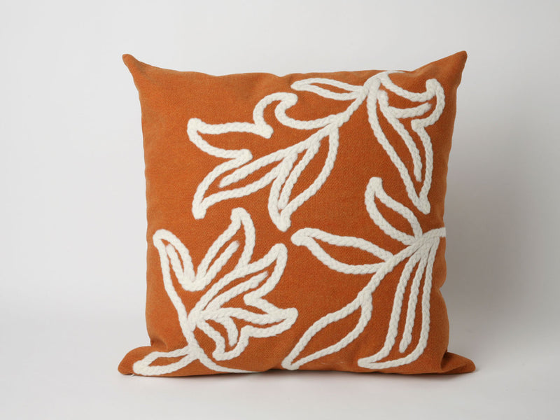 "Windsor Orange 20"" Square Indoor Outdoor Pillow"