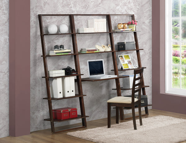 Michael Anthony Furniture Arlington Wall Shelf With Desk