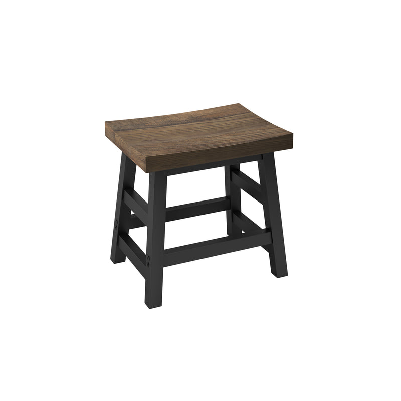 Sylvan Reclaimed Wood and Metal 20-inch Stool