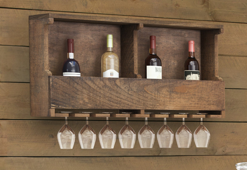 Sylvan Reclaimed Wood Wine Rack