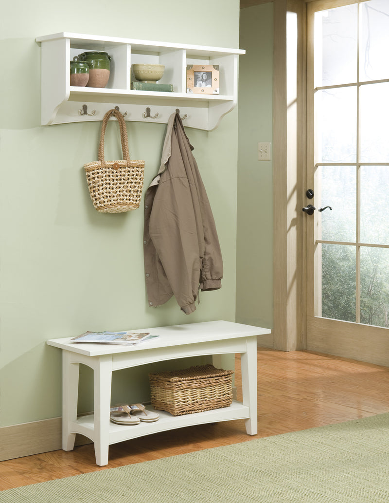 Canterbury Court Storage Coat Hook and Bench Set
