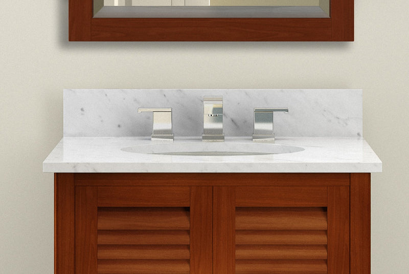 Gallina Chestnut Bath Vanity Set with Shelf/Mirror